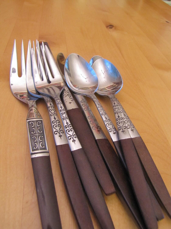 Vintage flatware by ecko eterna - Funky flatware sets ...