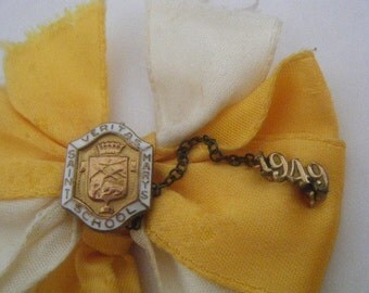 Class of 1949 Pins Saint Mary's School Enamel Ribbon