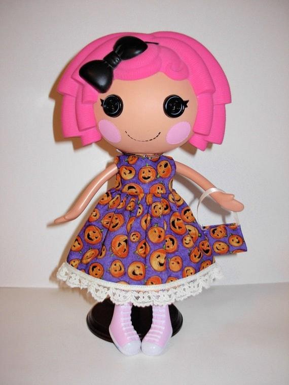 Lalaloopsy cute Halloween dress and  bag