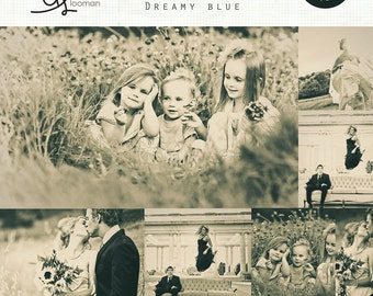 Lightroom Preset Dreamy Blue (set of 2) INSTANT DOWNLOAD