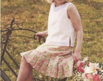 Natalie Skirt and Top Pattern by Maw Bell Child Sizes 3-6