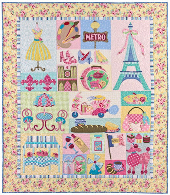 Mon Ami Quilt Pattern By The Vintage Spool Verna Mosquera