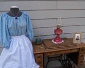 Ladies Colonial Dress Costume Civil War Pioneer Prairie -New