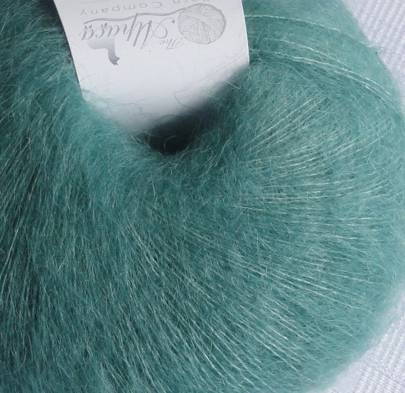 Lace Weight Alpaca Yarn (Halo) in Paradise