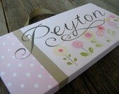 peyton little 6x12 hand painted canvas wall art