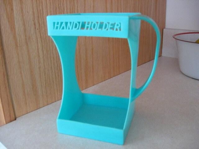 Evlo Handi Holder Green Blue Juice Milk Carton Handle Carrier