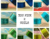 18 gauge Wire Special - YOU Pick 3 - Enameled Coated Copper
