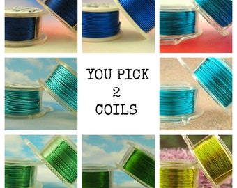 18 gauge Wire Special - YOU Pick 2 - Enameled Coated Copper