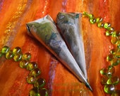 2 Mini Henna Cones With 1.1 oz Fresh Mixed Henna  - Natural, Safe, Body Art Quality
