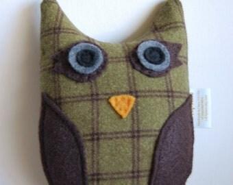 Plush OWL toy - Bridget - children gift woodland - stocking stuffer
