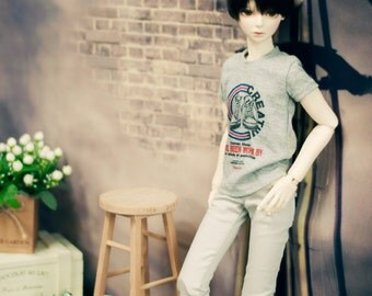 SD13 Boy Sneakers Decal shirts Grey