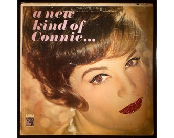 Glittered Connie Francis A New Kind of Connie Album