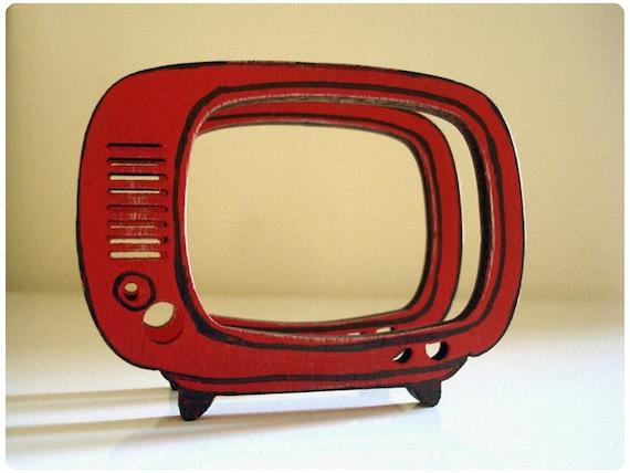 Retro Red TV Frames