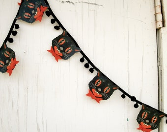 Halloween Garland The Scardey Cat Banner
