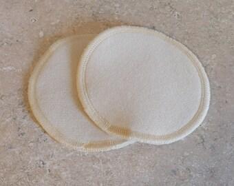 "100% Merino Wool Nursing Pads- Small- 4"" diameter"