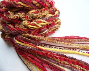 Scarf, The Pippy HARVEST Scarf, Crochet Scarf, Womens Scarves, Skinny Scarf Fringe Scarf