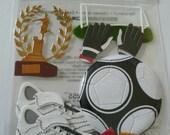 WORLD CUP SOCCER Jolee's Boutique Scrapbooking Wholesale stickers - Uniform, Ball, Goalie
