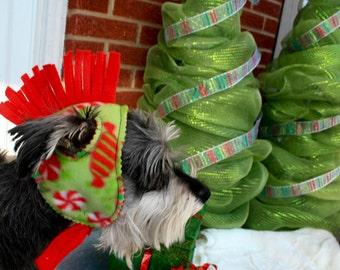 Mohawk Hat Warm Fleece