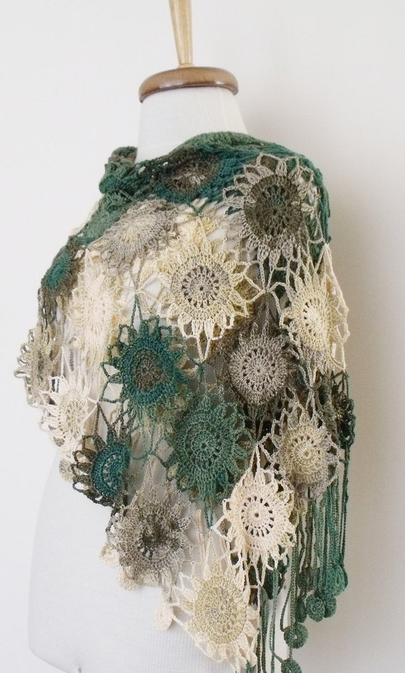 Multicolor Soft Cotton Bridal Shawl-Ready for shipping