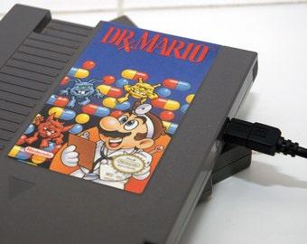 NES Hard Drive - Dr Mario  USB 3.0