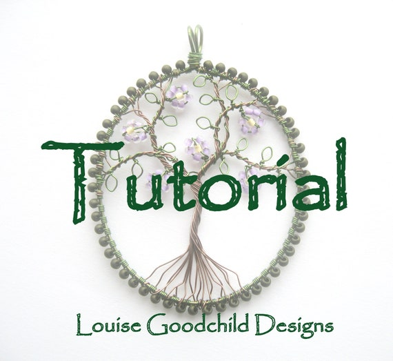 Wire tree tutorial necklace tutorial make your own wire wire tree tutorial necklace tutorial make your own wire wrap tutorial beading tutorial instant download wire tutorial tree of life mozeypictures Choice Image