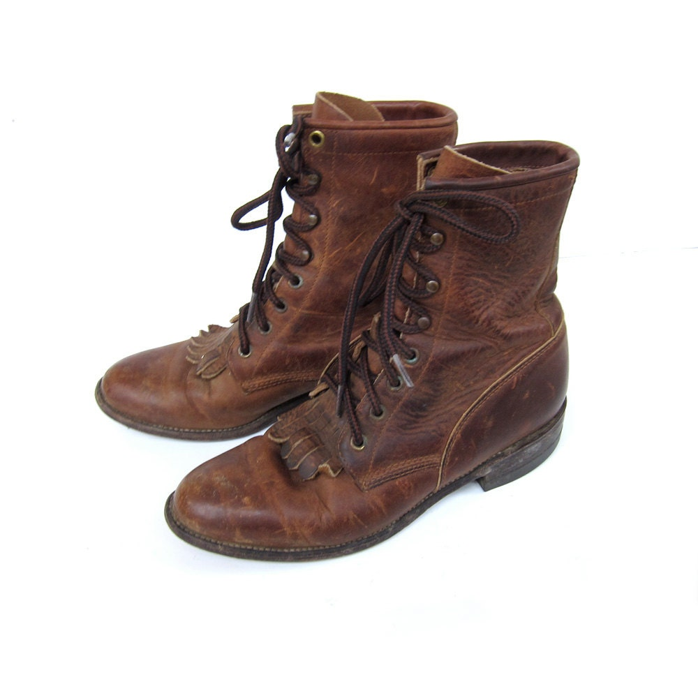 Similiar Leather Lace Up Boots For Women Keywords
