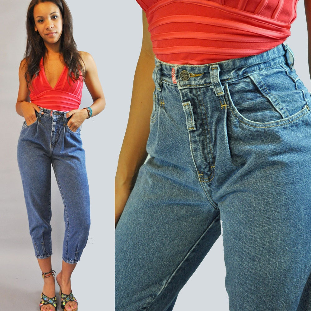 Shop all women's vintage jeans! Try on a pair of our vintage jeans for women for a flashback to the past. From high waisted to skinny and legging to ankle, vintage jeans .