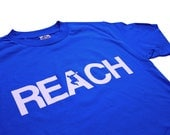 The REACH / ESCAPE Parkour T-Shirt - Royal Blue