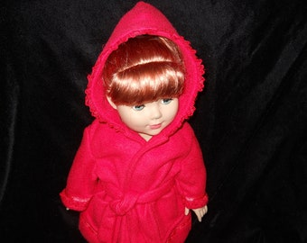 American Girl Doll or 18in. Doll Red Robe