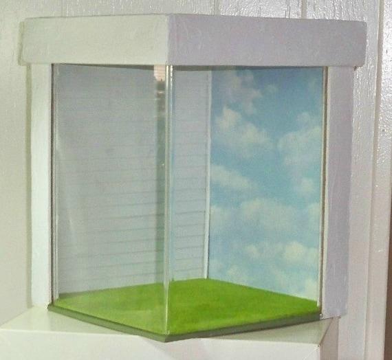 Dollhouse Miniature Room Box