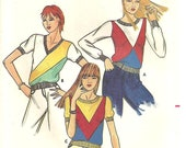 Butterick Pattern 3065 Vintage Top Sweater Blouse sz small