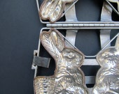 Metal Rabbit Chocolate Mold - Modred12