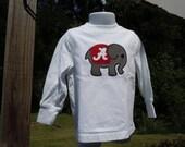 Bama appliqued elephant t-shirt
