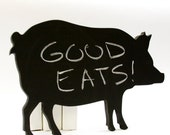 Pig Shaped Chalkboard for Your Kitchen