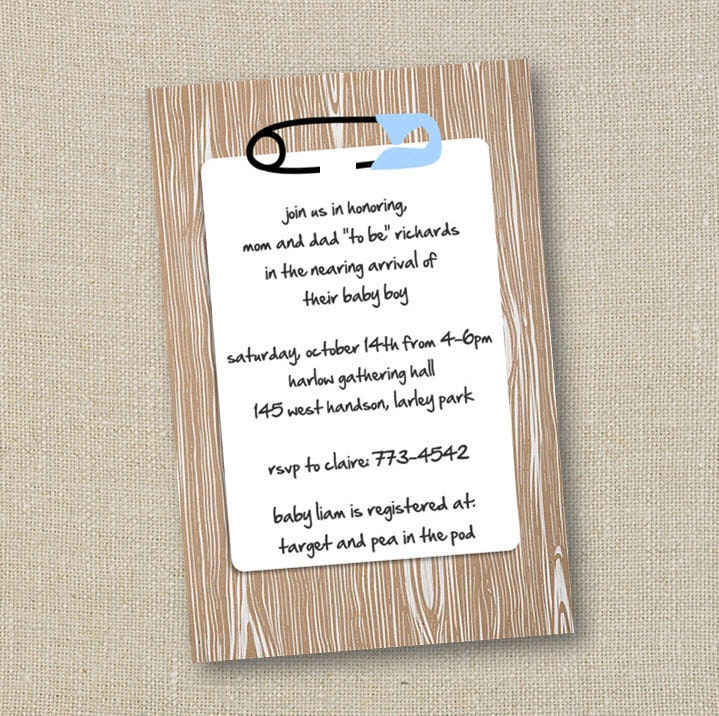 Create A Baby Shower Invitation for good invitation layout
