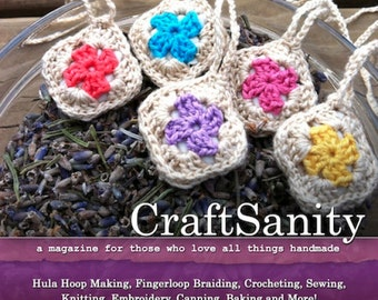 CraftSanity Magazine Issue 7 Print Edition
