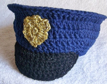 Police hat - adult police hat - cop hat - police helmet - police officer - police cap - gift for her - best Christmas gifts for women