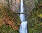 Fall at Multnomah Falls