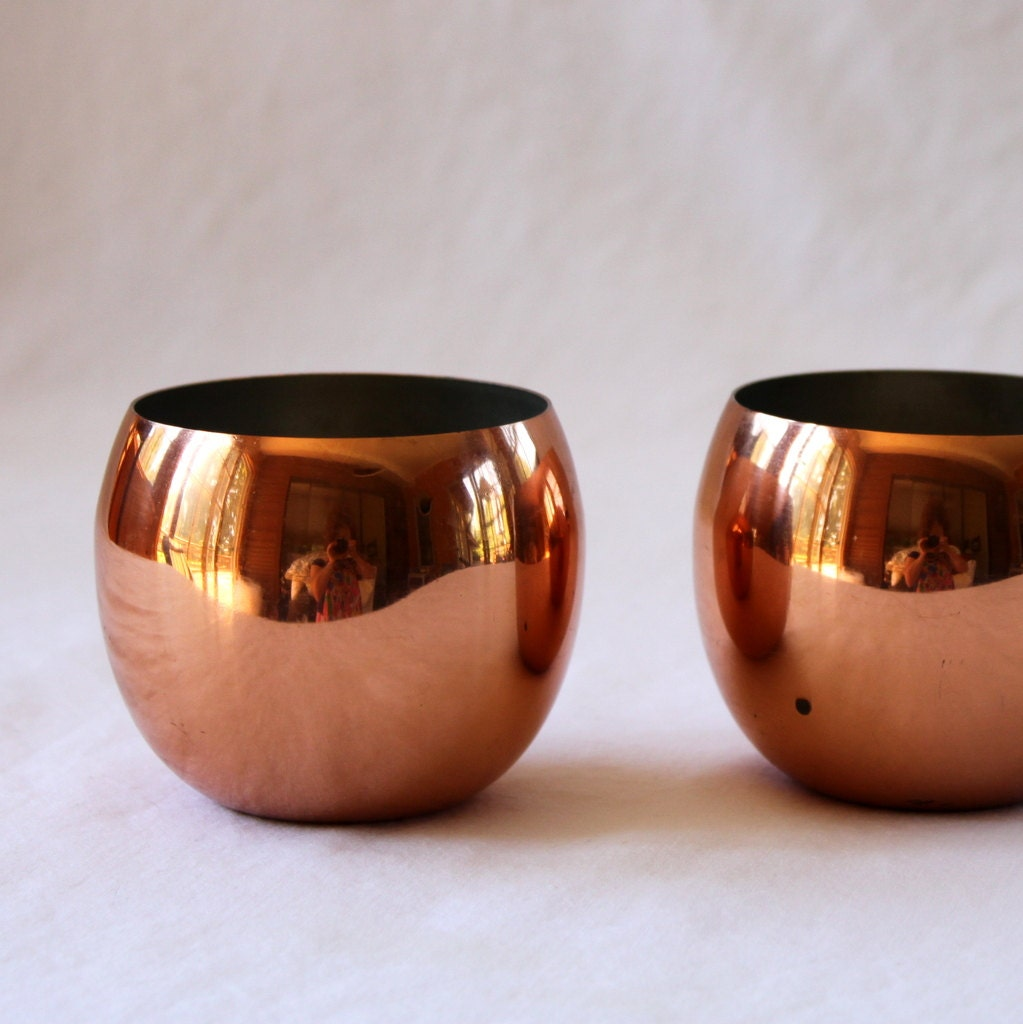 how to clean copper cups