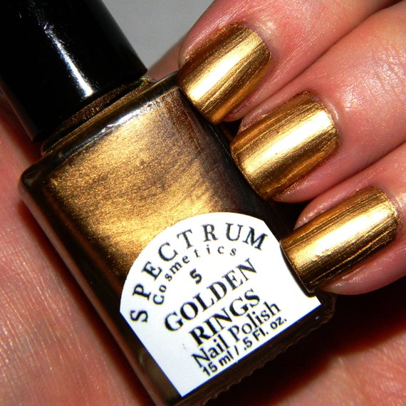 Metallic Gold Nail Polish: Unavailable Listing On Etsy