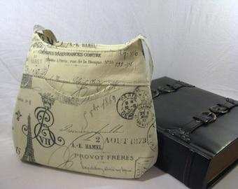 Curvy Bucket Bag - Paris Grey