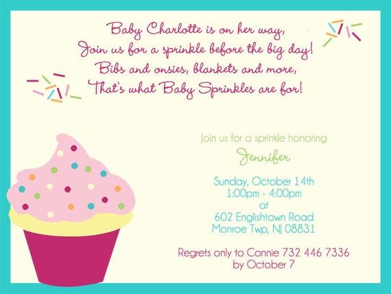 Baby Sprinkle Invitations for Jennifer DePreta