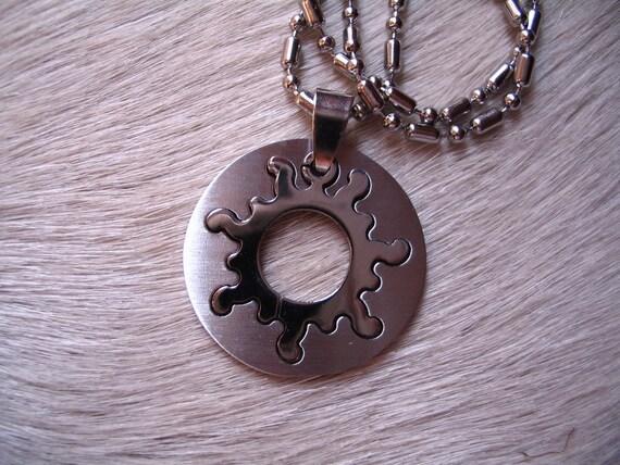 Sun fire necklace SALE was 17 USD