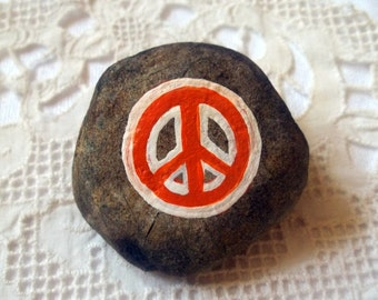 Peace Sign Rock Art - Donation To Doctors Without Borders