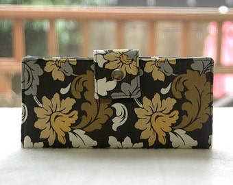 Wallet clutch womens   Clutch wallet all vegan handmade