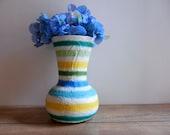 Reserved / Vase / Colorful home decor vases by Kristin Carriage Oak Cottage