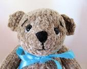 8 1/2 Bixbie a OOAK knit bear