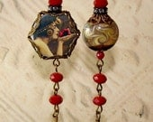 Gypsy Rose asymmetrical earrings