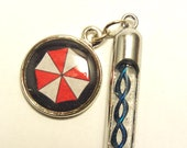 Resident Evil Mini Virus Bullet Hypo with Umbrella Charm, choose from 5 helix types