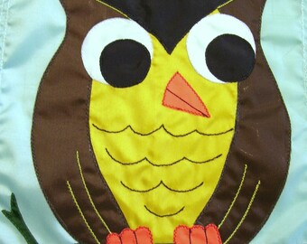 Owl Garden Flag